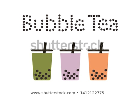 white tapioca pearls Stock photo © joannawnuk
