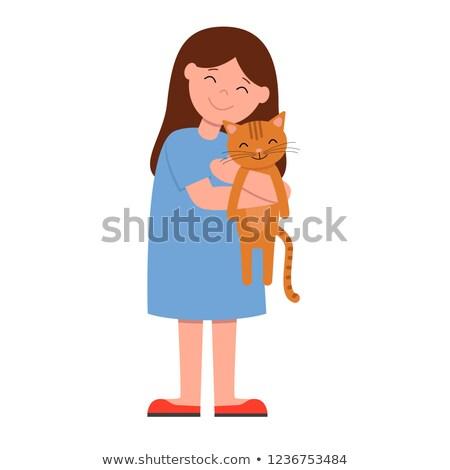 Nina gatito médicos oficina nina nino Foto stock © wavebreak_media