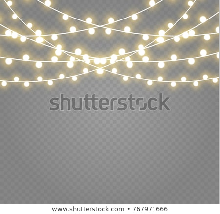 Vector string lights Stock photo © odina222