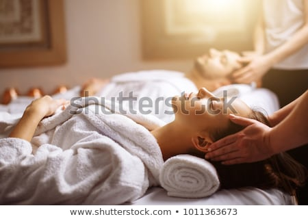 Woman receiving a luxury massage Stock photo © IS2