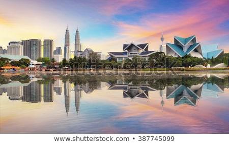 Tweeling Kuala Lumpur Maleisië beroemd Stockfoto © Taiga