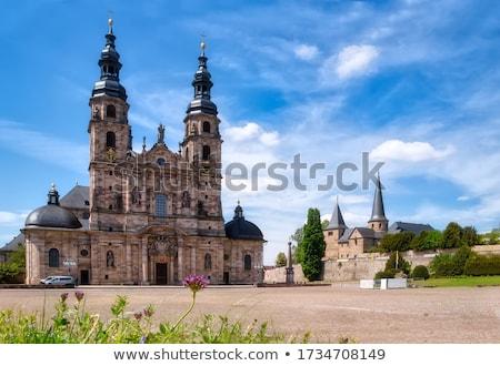 kathedraal · basiliek · detail · gebouw · kerk · Europa - stockfoto © prill