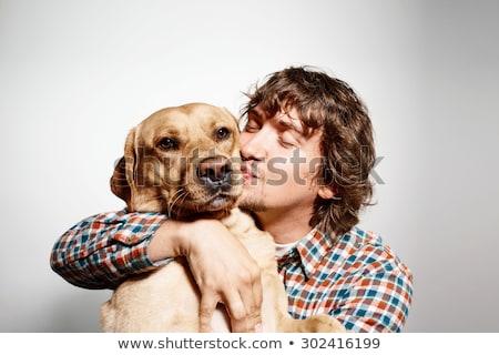 Animales perro establecer compras hombres Foto stock © toyotoyo