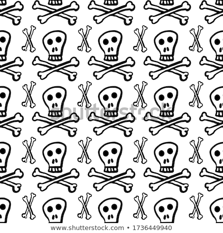 koponya · izolált · csontváz · fej · fehér · halál - stock fotó © lady-luck