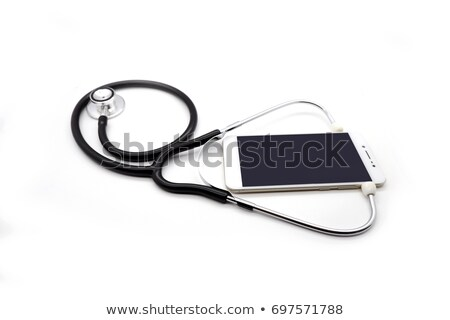 Diagnosing the problem on the smartphone Stock photo © magraphics
