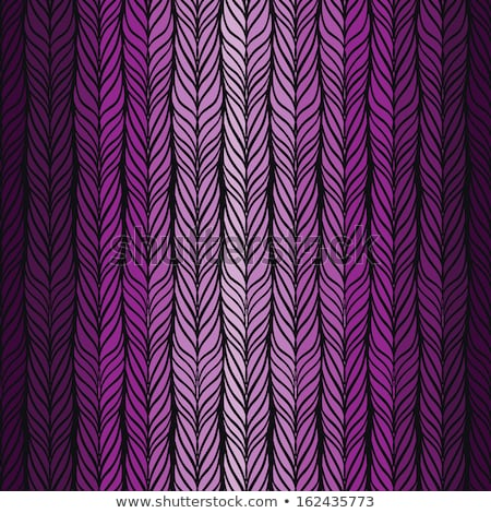 purple seamless knit pattern zigzag embroidery stock photo © essl