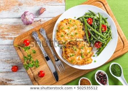 Green Bean Croquettes Stock photo © boggy