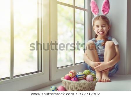 Little girl enjoying Easter holiday Stock photo © Anna_Om