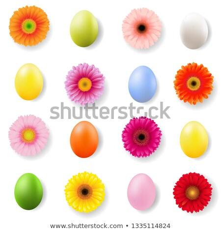 Pasqua giorno banner uova gradiente Foto d'archivio © adamson