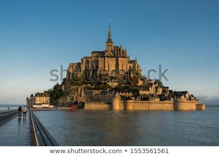 święty morza fala Francja miasta wiosną Zdjęcia stock © neirfy