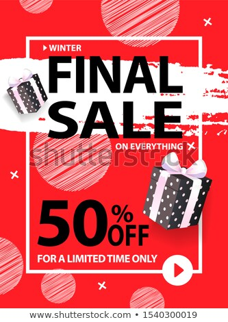 50 Percent Off on Everything, Final Sale for All Stock photo © robuart