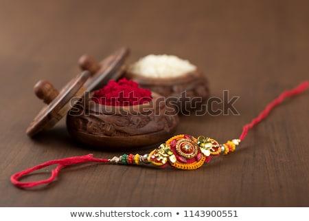 beautiful raksha bandhan festival greeting background Stock photo © SArts