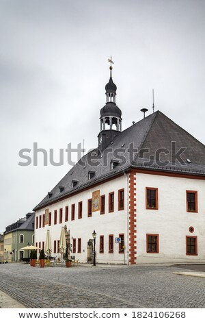 Marienberg town hall, Germany Stock photo © borisb17