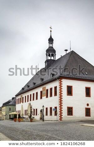 旧市街 · ホール · ハノーバー · ドイツ · 空 · 市 - ストックフォト © borisb17