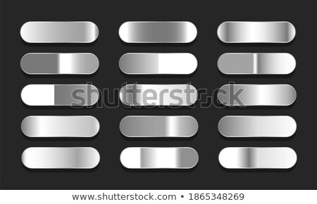 Brillant acier inoxydable aluminium gradients grand Photo stock © SArts