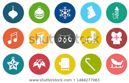 winter icon set stock photo © bspsupanut
