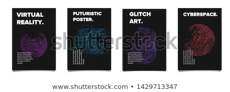 Artificial Intelligence Flyer Concepts Stock photo © Anna_leni