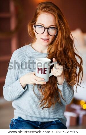 Mooie vrouwelijke handen groot Stockfoto © ElenaBatkova