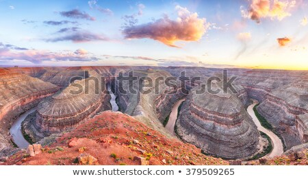 San Juan River meanders Stock photo © pancaketom