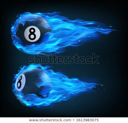 Tűzgömb füst láng plazma labda robbanás Stock fotó © robuart