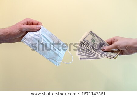 Respiratory Mask Price During Coronavirus Panic Stock photo © AndreyPopov