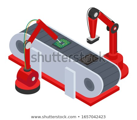 Machines Create Tablets on Automated Production Stock photo © robuart