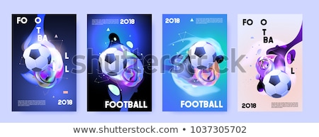 Soccer Sport Championship Final Game Poster Vector Stock photo © pikepicture