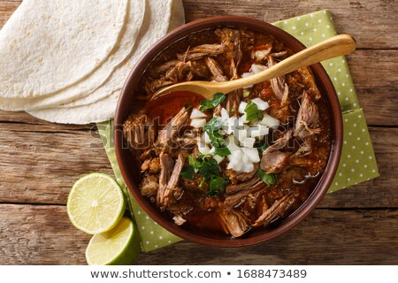 Mexican stew  Stock photo © tycoon