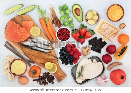 Health Food and Herbs to Treat Asthma Stock photo © marilyna