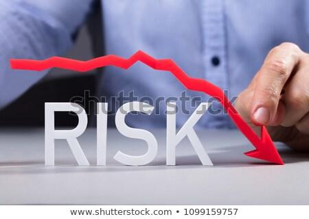 Financiar menos risco para baixo negócio mulheres Foto stock © AndreyPopov