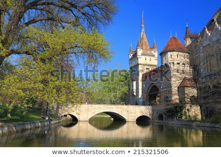 Stock photo: Budapest Hungary From Fortress Citadel