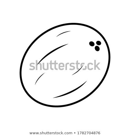 Cosmetici icone succosa visage trucco oggetti Foto d'archivio © sahua