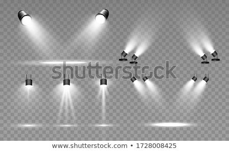 Zdjęcia stock: Spotlights On Concert