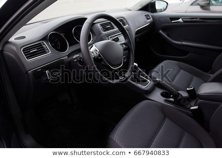 Samochodu wnętrza Fotografia moda projektu technologii Zdjęcia stock © cookelma