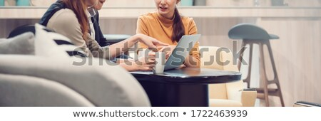businessman and businesswoman working outdoors Stock photo © photography33