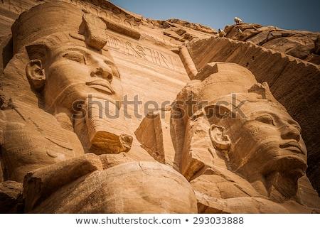 kamień · egipcjanin · świątyni · starożytnych · Egipt · pustyni - zdjęcia stock © bbbar