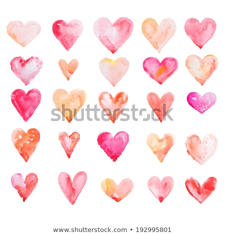abstract artistic pink heart wallpaper stock photo © pathakdesigner