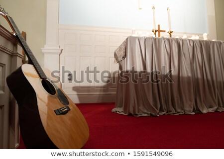 Photo stock: Résumé · coloré · guitare · été · Rock · wallpaper