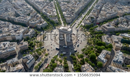 Paris- aerial view Stock photo © RazvanPhotography