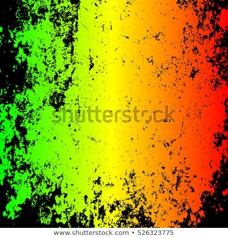 色 ジャマイカ コート 腕 地図 フラグ ストックフォト © perysty