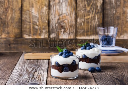 Two individual fruit sponges Stock photo © photography33