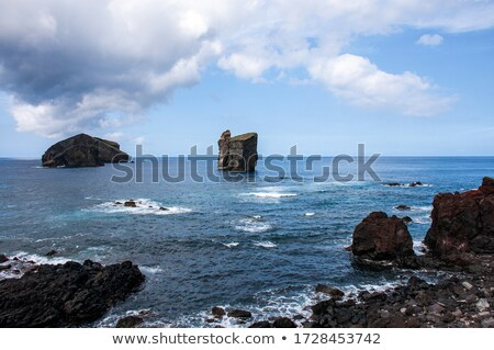 Skała dekoracje wyspa archipelag Zdjęcia stock © prill