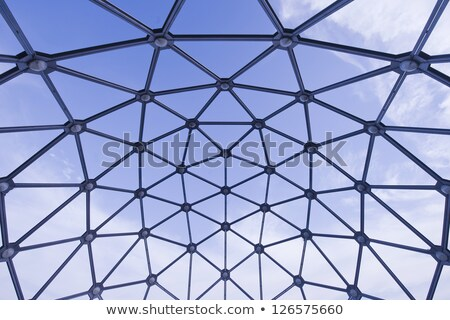 Spheric Metal Viewpoint Stock photo © samsem