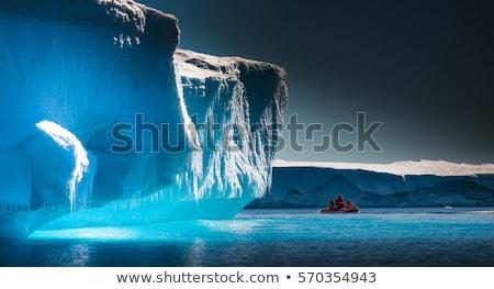 Buzdağı büyük deniz kar soğuk kutup Stok fotoğraf © timwege