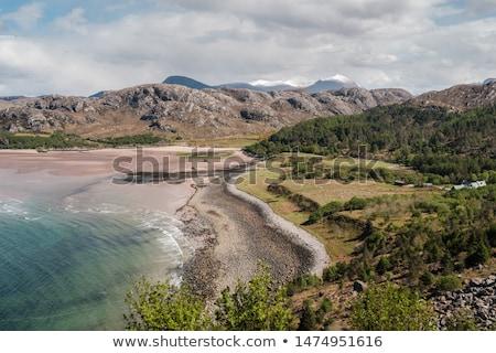 gruinard bay highlands scotland stock photo © phbcz