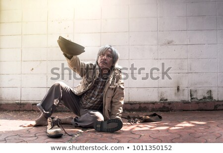 drunk tramp Stock photo © smithore