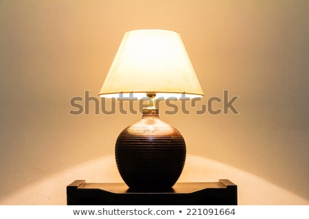 old lamp on table Stock photo © Mikko