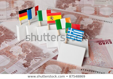 Euro Debt Crisis Stock photo © ankarb