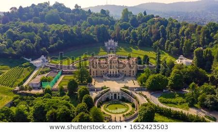 Villa русалка фонтан Италия женщину Сток-фото © claudiodivizia