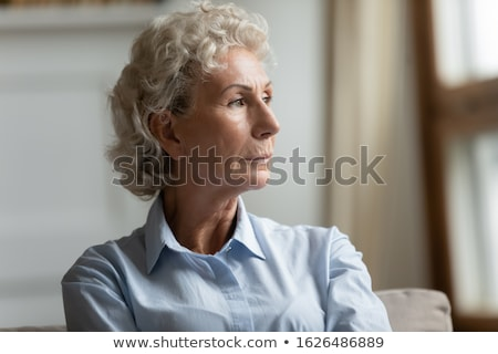 Сток-фото: Living With A Dementia Patient